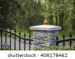 automatic gate | Shutterstock . vector #408178462