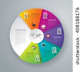 infographic design vector and... | Shutterstock .eps vector #408188176