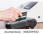 credit card payment  buy and... | Shutterstock . vector #408209542