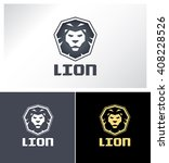 lion logo vector design. the...