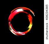 light ring background  | Shutterstock . vector #408234385