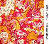 tracery seamless calming... | Shutterstock .eps vector #408244306
