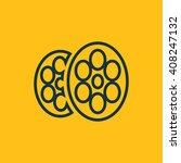 vector illustration of cinema...
