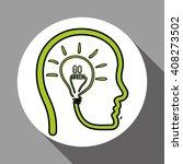 vector illustration of think... | Shutterstock .eps vector #408273502