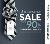 beautiful father'  s day sale... | Shutterstock .eps vector #408331612