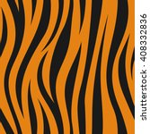 Animal Abstract Skin Orange An...