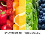 Healthy Food Backgrounds  Seve...