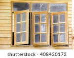 wooden window | Shutterstock . vector #408420172