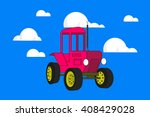cartoon vector illustration of... | Shutterstock .eps vector #408429028