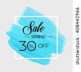 season spring sale 30  off sign ...   Shutterstock .eps vector #408442966