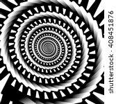 abstract spiral  vortex graphic.... | Shutterstock .eps vector #408451876