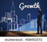 growth process strategy success ... | Shutterstock . vector #408452572
