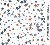 abstract black and white stars... | Shutterstock .eps vector #408460612