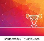 abstract creative concept... | Shutterstock . vector #408462226