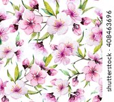 Watercolor Pattern Spring ...