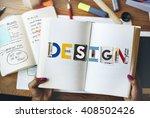 design creative inspiration art ... | Shutterstock . vector #408502426