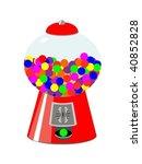 gumball machine   Shutterstock .eps vector #40852828
