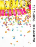 carnival background with deco... | Shutterstock . vector #408541372