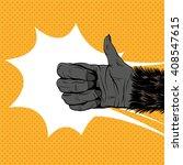 Monkey Hand Shows Like Sign ...