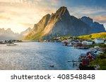 Lofoten  Reine  Norway