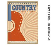 Acoustic Guitar Country Music...
