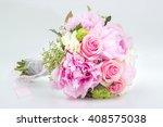 Beautiful Pink Wedding Bouquet...