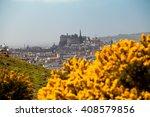 Edinburgh Castle During Spring...