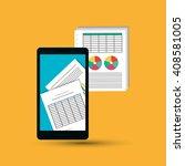 infographic illustration design ... | Shutterstock .eps vector #408581005