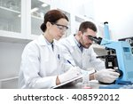 science  chemistry  technology  ... | Shutterstock . vector #408592012