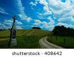 July Landscape On Czech...