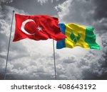 3d illustration of turkey  ... | Shutterstock . vector #408643192