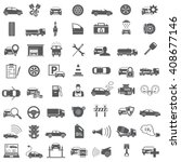 auto icons | Shutterstock .eps vector #408677146