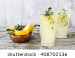 summer lemonade | Shutterstock . vector #408702136