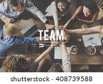 team alliance association... | Shutterstock . vector #408739588