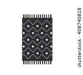 carpet icon. vector illustration | Shutterstock .eps vector #408740818