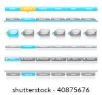 clean vector  easy to edit web... | Shutterstock .eps vector #40875676