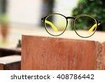 glasses accessories... | Shutterstock . vector #408786442