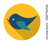 bird icon. | Shutterstock . vector #408796906