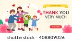 family month illustration | Shutterstock .eps vector #408809026
