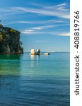 Small photo of Split Apple Rock in Abel Tasman National Park