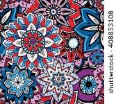 seamless pattern texture.... | Shutterstock .eps vector #408853108