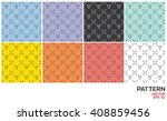 seamless abstract color pattern.   Shutterstock .eps vector #408859456