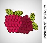 fresh fruit design  | Shutterstock .eps vector #408864295