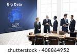 big data storage online... | Shutterstock . vector #408864952