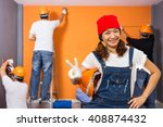 home improvement   renovation... | Shutterstock . vector #408874432