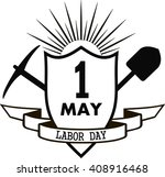 labor day graphic design   pick ... | Shutterstock .eps vector #408916468