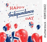 norway independence day... | Shutterstock .eps vector #408923602