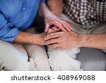 Senior Couple Holding Hand At...