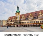 leipzig  germany   sep 22  the... | Shutterstock . vector #408987712