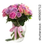 Bouquet Of Pink And Violet ...